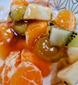Yaourt Grec aux fruits frais et miel du péloponnèse